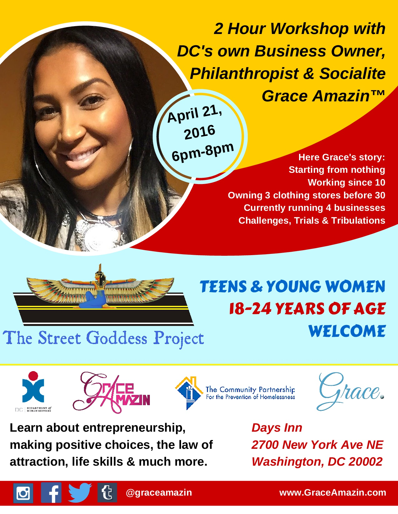The Street Goddess Project with DC Human Services & Community-Partnership